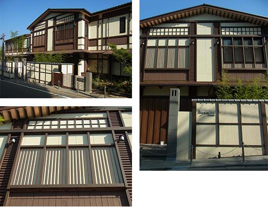 木調のEPS建材。軽量で組立が容易な木調角材が和風建築を実現
