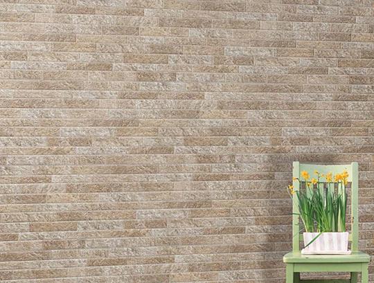 現代の住宅にマッチする石積み柄【石壁グラジェット】