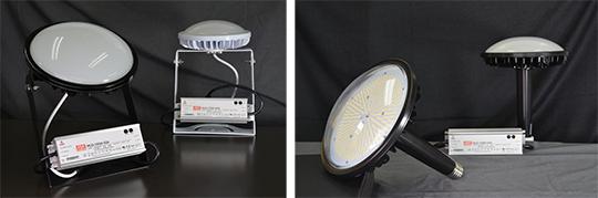 業界トップクラス155lm/Wの発光効率水銀灯代替LED