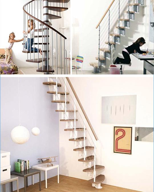 階段キット「arke'」スパイラル階段とオープン階段のご紹介