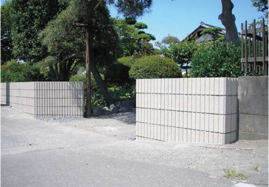美しい外壁を実現するブロック【マイルド・ワン・ツー】