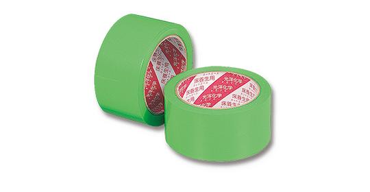 糊残りがしにくく、被着体を痛めない養生テープ