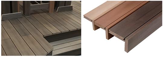 かつてない程のリアルな木質感を実現した、業界最軽量ムク材デッキ