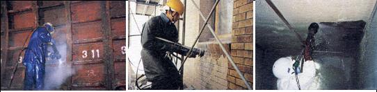 超高圧・少水量ウォータジェットを用いたコンクリート下地処理「JSS工法」