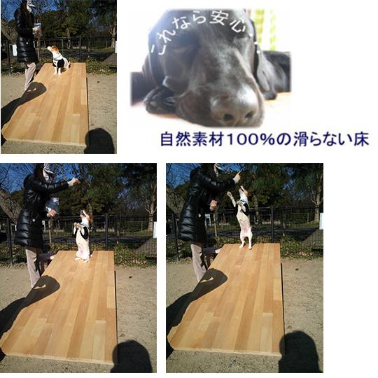 【自然素材100%】愛犬が滑らないノンスリップ塗装
