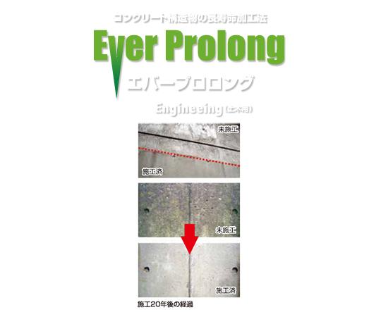 コンクリート構造物の長寿命化エバープロロング