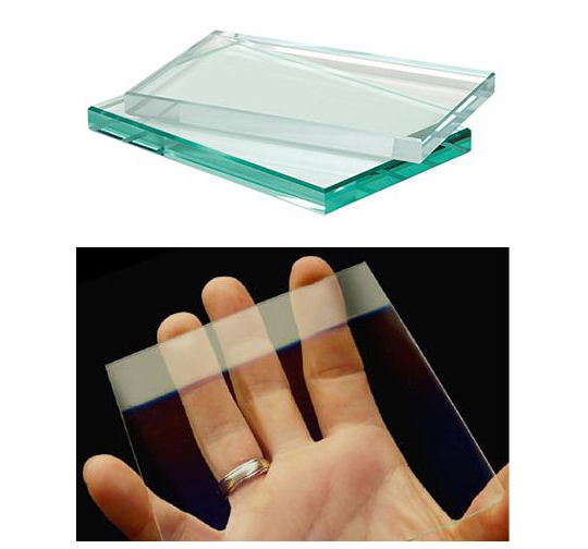 限りなく透明で、実際の色をそのままを映し出すハイクリアガラス