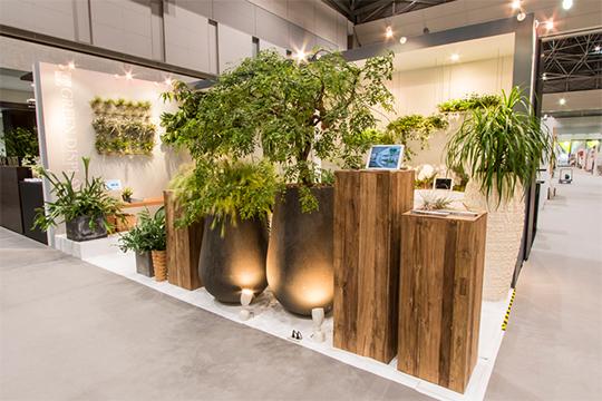 【interiorlifestyleTOKYO】植物を使った環境演出を展示します!