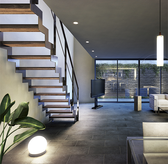 階段NO1.ブランドが提案するフリーカスタマイズインテリア階段