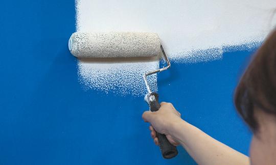 【エコフリース】壁紙は、張りかえから塗りかえへ。 新製品