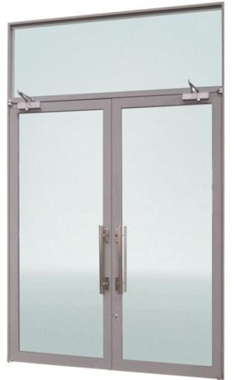 ガラス防火戸「ファイヤードS開き戸(スチール仕様)」を販売