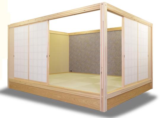 【和室ユニット】職人のこだわりが創り出す和空間をお試しください。