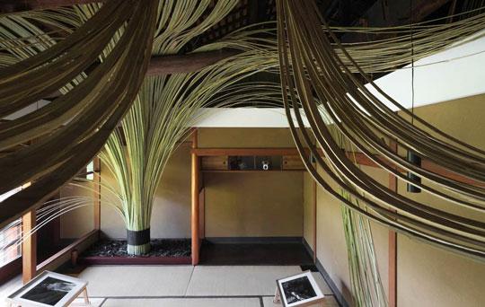 竹による空間演出をオーダーメイドで再現いたします。