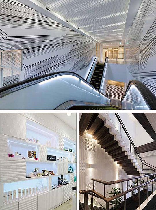 豊富なバリエーションで空間を演出する内装パネル材「サカイリブ」 製品紹介