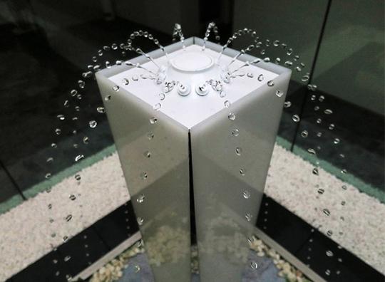 「水演出機器」を店舗、ホテル、病院、住宅に! 製品紹介