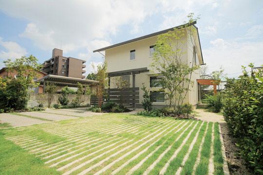 緑のコントラストを描く植生用ブロック『リビオ[ai]緑化』 製品紹介