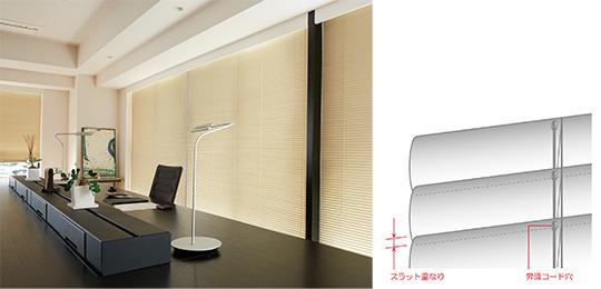 遮蔽性と省エネ性を向上し、冷暖房負荷を30.9%削減!よこ型ブラインド「シェルシリーズ」に4商品が新登場!