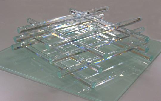 世界初!8角形ガラス棒のシャンデリアパーツ