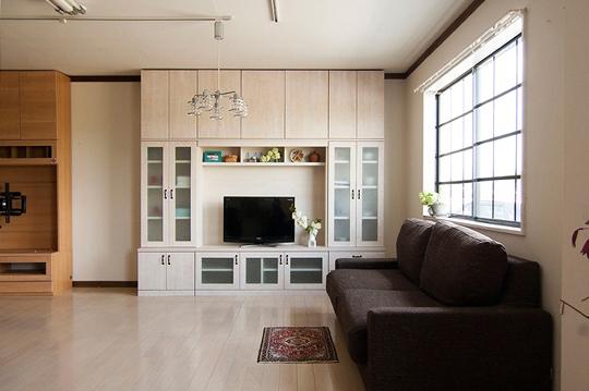 簡単オーダーで低価格の壁面収納があなたのものに!