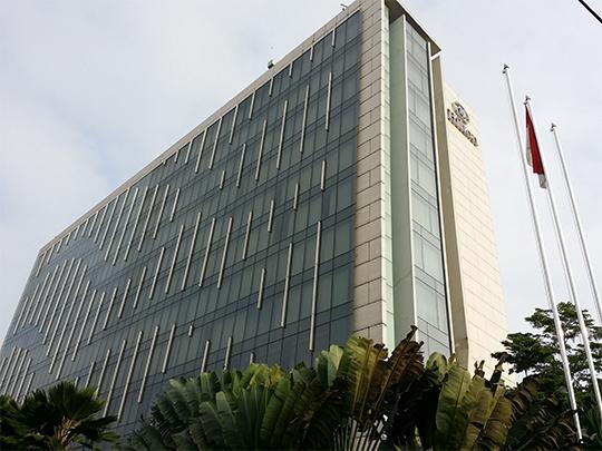 インドネシアのヒルトンバンドンホテルへZEROCOATを施工