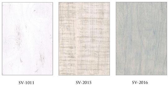 国産材エコ合板で使い古された古木のダメージ感を表現