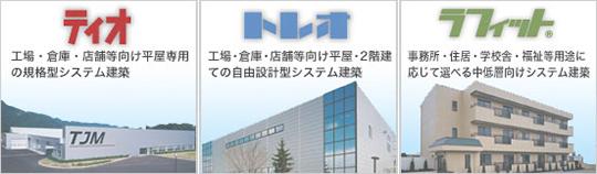 低価格・短工期・高品質を実現する住金システム建築
