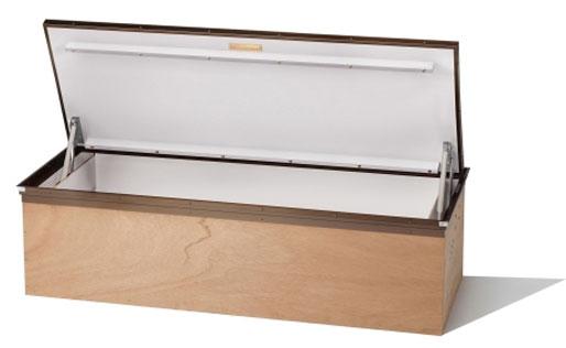 自社オリジナル特許金物使用!洋間用収納ユニット「ガスダンパー式大型床下収納庫」をご紹介! 製品紹介