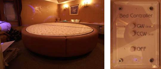 30年以上の実績が創り出す安心の「円形回転ベッド」