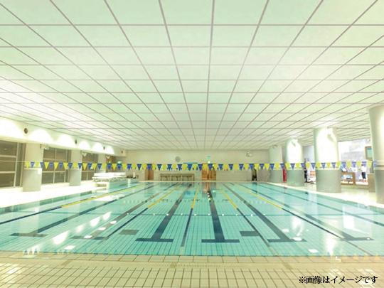 「屋内プール天井」にも新たな軽量天井を提供【三洋工業】 新製品