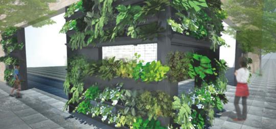 壁面を自由なデザインで緑化します【トスラシステム】 製品紹介