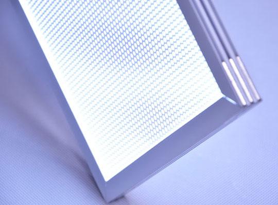 両面発光LEDパネル・拡散板仕様LEDパネルの入荷!