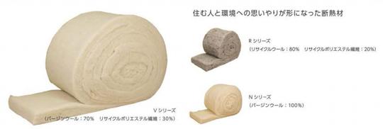 「呼吸する羊毛断熱材」深呼吸できる住まいのために 製品紹介