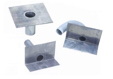 耐久性・耐候性に優れた鉛素材「防水改修用OK鉛ドレン」