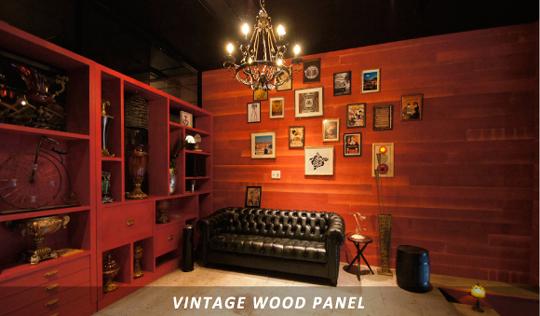 ヴィンテージ加工壁板の専門店『WOODLOVER'S』