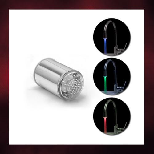 LEDの色で水温がわかる『蛇口ホルダー』をご紹介♪