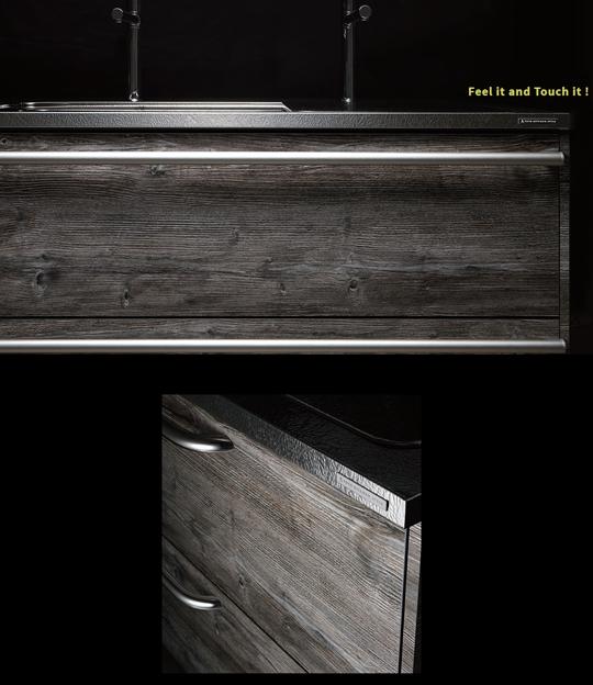 トーヨーキッチンスタイルの新扉【Feel Wood】 新製品
