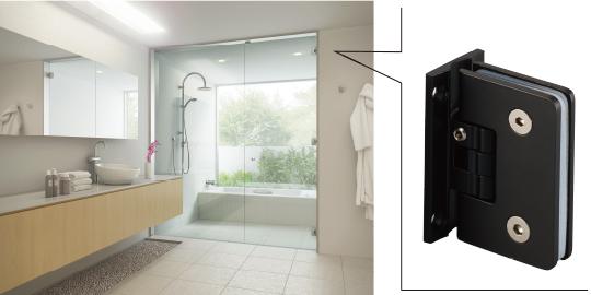 ガラス用建築金物、さらに増えました! 新製品