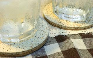 立風製陶の「珪藻土・驚きコースター」をオススメします!