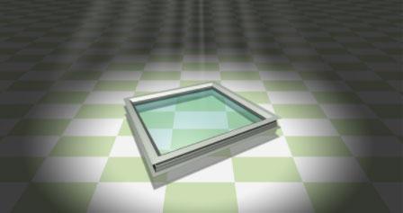 外観は金属製を思わせる重厚な仕上がり「樹脂枠FIX窓PX」