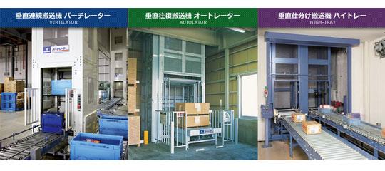 「垂直搬送システム(垂直コンベヤ)」納入事例を動画で紹介します! 製品紹介