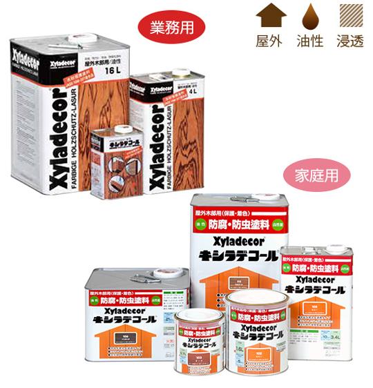 プロが認めた高性能木材保護塗料『キシラデコール』