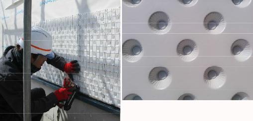 モルタル外壁の常識を変える新工法を展示!
