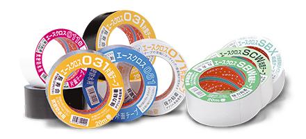 高性能高品質のテープ製造・販売を続けて、創立60周年を迎えます。