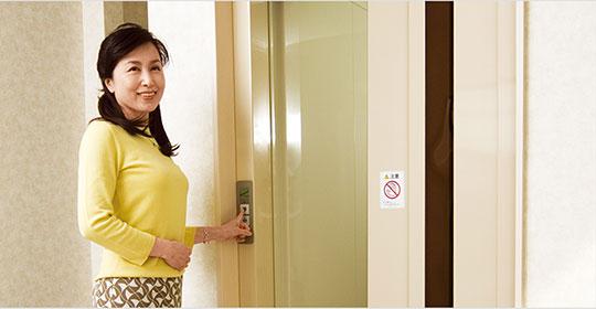 クマリフトのホームエレベーターで快適ライフを。