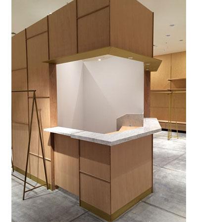 内装材・什器・テーブル天板に!HYD-AHは様々な形状に制作します!