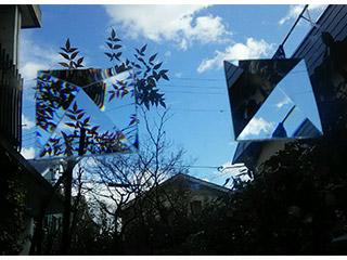 クリスタルサイン ピラミッド変形<写真:左>