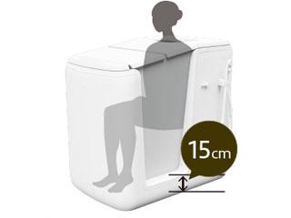 介護用コンパクトシャワー入浴装置【シャワーオール】