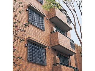 アルミ鋳物製装飾金属「CAZARY® ORNAMENTAL HARDWARE」面格子