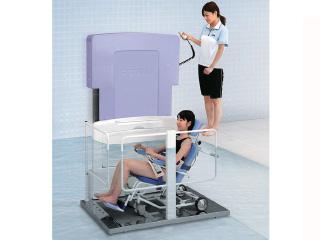 介護入浴装置「アシストデッキ」(リフト入浴 )