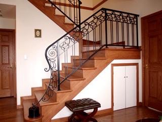建築装飾金物「階段手摺・フェンス」